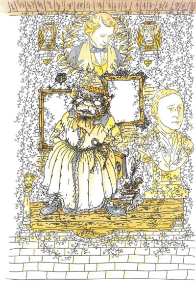Иллюстрация 1 из 32 для Фантасмагория и другие стихотворения - Льюис Кэрролл | Лабиринт - книги. Источник: Лабиринт
