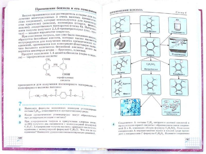 Иллюстрация 1 из 18 для Химия. 10 класс. Профильный уровень. Учебник для общеобразовательных учреждений - Габриелян, Пономарев, Маскаев, Теренин | Лабиринт - книги. Источник: Лабиринт