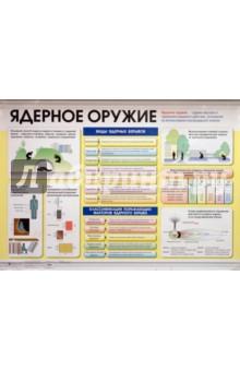 Лачук В. Н., Миронов С. К. Ядерное оружие. Химическое оружие. Плакат (30470)