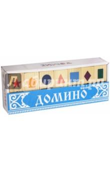 """Домино """"Геометрические фигуры"""" (5655-1)"""