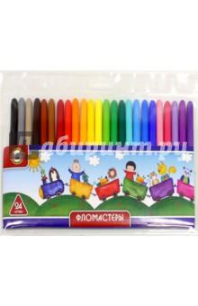 Фломастеры 24 цвета (7304/24) Koh-I-Noor