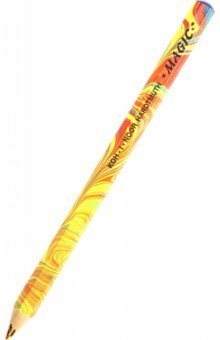 Карандаш цветной  Magic (большой) (3405)Цветные карандаши менее 6 цветов<br>Уникальный карандаш с многоцветным грифелем, утолщенный корпус и грифель.<br>Толщина корпуса: 10 мм.<br>Срок годности: не ограничен.<br>Производство: Чехия.<br>