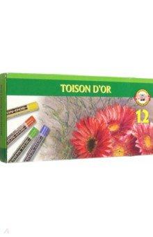 Пастель сухая, 12 цветов (8512)