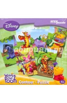 """Contour Puzzle """"Медвежонок Винни"""" (92100)"""