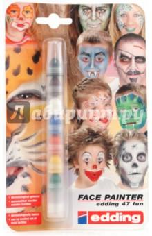 Грим-маркеры для детей 7 цветов Face Painter в блистере (47)