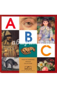 ABC featuring works of art from the State Hermitage. St. Petersburg