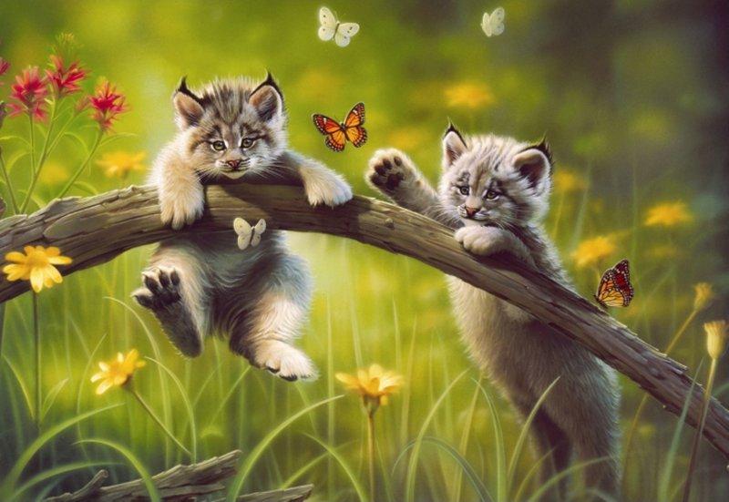 "Иллюстрация 1 из 5 для Пазл-500 ""Котята"" (13413)   Лабиринт - игрушки. Источник: Лабиринт"