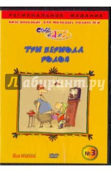 Чичкун В. А. Три периода родов. Видеопособие для молодых родителей №3 (DVD)