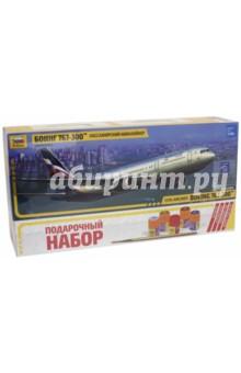 Пассажирский авиалайнер. Боинг 767-300 (7005)Пластиковые модели: Авиатехника (1:144)<br>Набор для сборки одной модели. В набор входят: кисточка, клей и 4 краски.<br>Не рекомендуется детям до 3-х лет.<br>Сделано в России<br>