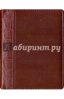 Ежедневник коричневый, кожа (ЕКК1061524)