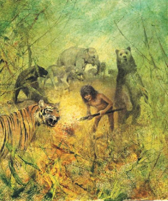 Иллюстрация 1 из 157 для Книга джунглей - Редьярд Киплинг | Лабиринт - книги. Источник: Лабиринт