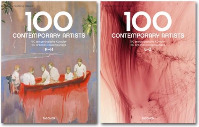 Иллюстрация 1 из 14 для 100 Contemporary Artists   Лабиринт - книги. Источник: Лабиринт