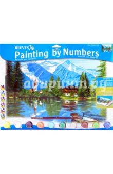 """Набор для раскрашивания красками """"Лесное шале"""" (PL/55)"""