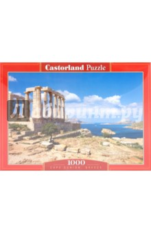 Puzzle-1000. Мыс Сунайон, Греция (С-101900)