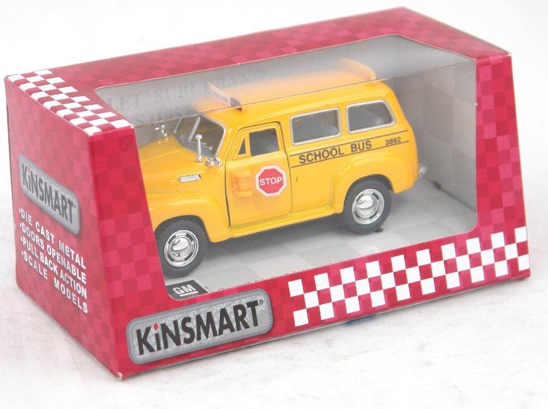 Иллюстрация 1 из 4 для Шевроле Субурбан 1950 г. (школьный автобус) (КТ5005) | Лабиринт - игрушки. Источник: Лабиринт