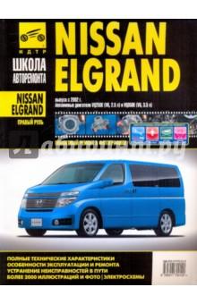 Nissan Elgrand (правый руль). Руководство по эксплуатации, тех. обслуживанию и ремонту. С 2002 г.