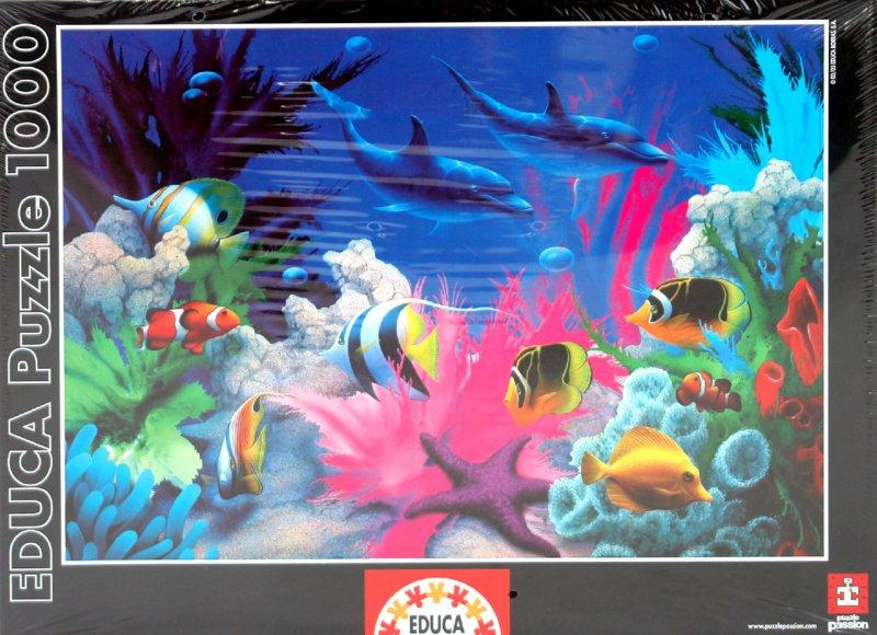 Иллюстрация 1 из 4 для Пазл-1000 Безграничный цвет (рыбки) (12007) | Лабиринт - игрушки. Источник: Лабиринт
