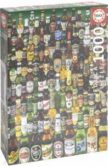 Пазл-1000 Коллекция бутылок пива (12736)Пазлы (1000 элементов)<br>Пазл-мозаика.<br>Состоит из 1000 элементов.<br>Правила игры: вскрыть упаковку и собрать игру по картинке.<br>Размер собранной картинки: 68х48 см.<br>Не давать детям до 3-х лет из-за наличия мелких деталей.<br>Срок годности не ограничен.<br>Упаковка: картонная коробка.<br>В комплект входит специальный клей для склеивания элементов. Клей представляет из себя порошок, который нужно просто разбавить водой. Он не разлагается при минусовой температуре как большинство клеев для пазлов.<br>Производитель: Испания.<br>
