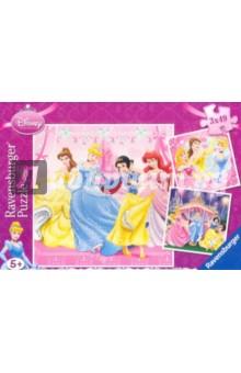 Настольная игра Сказочные принцессы Диснея. Пазл-3*49