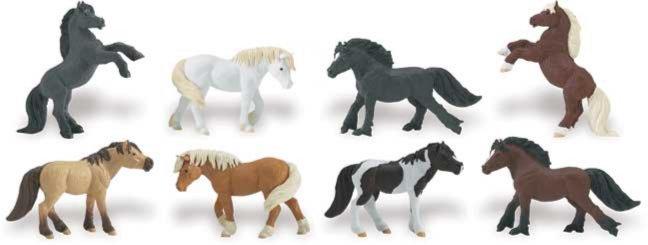 Иллюстрация 1 из 6 для Пони, 8 фигурок (681104) | Лабиринт - игрушки. Источник: Лабиринт