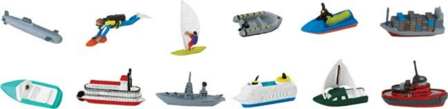 Иллюстрация 1 из 15 для В воде, 12 фигурок (682804) | Лабиринт - игрушки. Источник: Лабиринт
