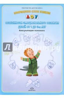 Особенности эмоционального развития детей от 1 до 3-х лет