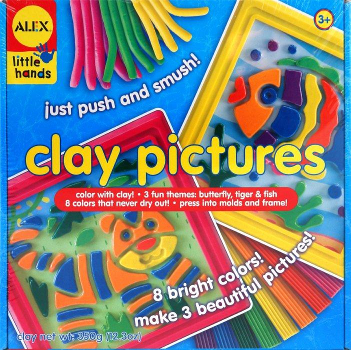 Иллюстрация 1 из 13 для Картина из пластилина (3 рисунка, 3 рамки, 3 фона) (1413) | Лабиринт - игрушки. Источник: Лабиринт