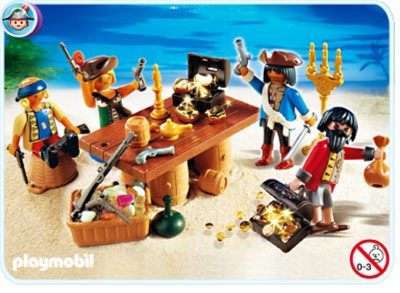 Иллюстрация 1 из 3 для Пиратская команда с трофеями (4292) | Лабиринт - игрушки. Источник: Лабиринт