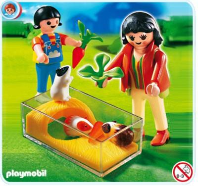Иллюстрация 1 из 8 для Дети с морскими свинками (4348) | Лабиринт - игрушки. Источник: Лабиринт