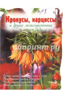 Крокусы, нарциссы и другие мелколуковичные цветыКомнатные растения<br>Пожалуй, никакие другие цветы в саду не приносят нам столько радости, сколько мелколуковичные. После унылой и серой зимы цветение бесстрашных подснежников всегда доставляет приятное волнение, вызывает душевный подъем. Эта книга поможет вам освоить выращивание мелколуковичных культур и использование их в садовом дизайне.<br>