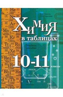 Химия в таблицах. 10-11 классы. Учебное пособие для учащихся общеобразовательных организаций