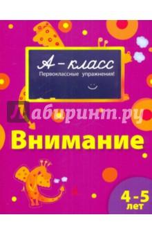 Мамаева Виктория Валерьевна Внимание (4-5 лет)