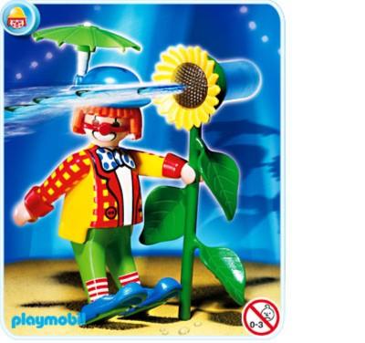 Иллюстрация 1 из 5 для Клоун с цветком (4238) | Лабиринт - игрушки. Источник: Лабиринт