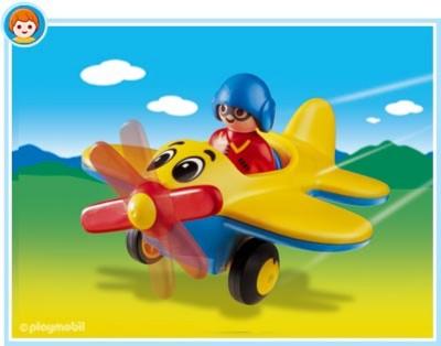 Иллюстрация 1 из 4 для Самолет с пропеллером (6717) | Лабиринт - игрушки. Источник: Лабиринт