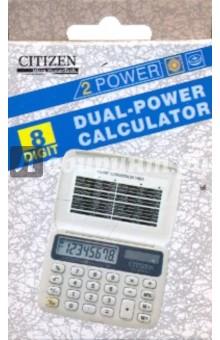 Калькулятор карманный CITIZEN 8 разрядный (FS-50 WH)