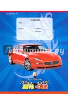 """Тетрадь """"Auto club"""" 12 листов, линейка (721082-11)"""