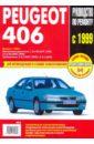 Руководство по ремонту PEUGEOT 406 с 1999 бензин / турбодизель.