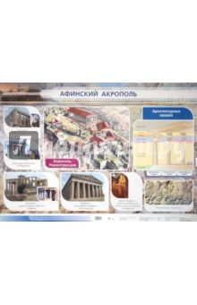 Игнатов А. В. Стационарное учебное наглядное пособие: Афинский акрополь