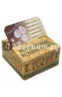 Руны из розового кварца. Гармония, спокойствие, самоуверенность (RUNE 03K)Гадания. Карты Таро<br>Руны из розового кварца.<br>Для смыслового толкования с помощью рунических символов.<br>Упаковка: картонная коробка.<br>Производство: Италия<br>