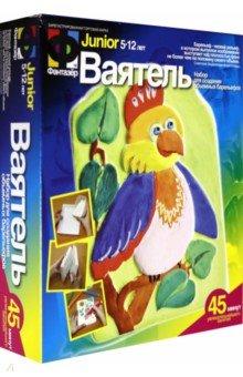 Ваятель. Набор для создания объемных барельефов Птица с хохолком
