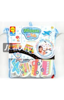 """Набор фигурок-стикеров для ванны """"Транспорт"""" (27 штук) (804W) ALEX"""