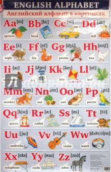 Английский алфавит в картинках / Основные правила чтения