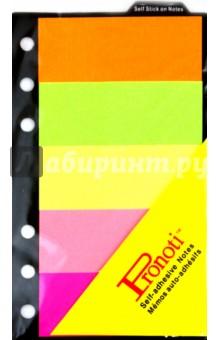 Набор стикеров 5 цветов по 20 листов, 30х76 мм (07357)