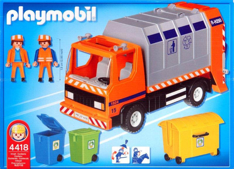 Иллюстрация 1 из 2 для Мусоровоз (4418) | Лабиринт - игрушки. Источник: Лабиринт