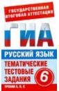 Русский язык. 6 класс.  ...