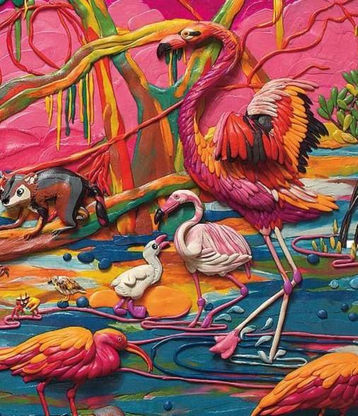 Иллюстрация 8 из 81 для Пластилиновая книга: Кругосветное путешествие - Ольга Кувыкина | Лабиринт - книги. Источник: Лабиринт