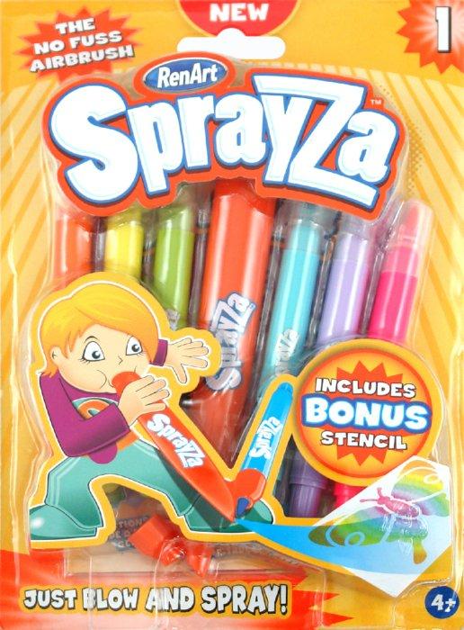 Иллюстрация 1 из 4 для Набор для творчества, Sprayza 1 (SA2201) | Лабиринт - игрушки. Источник: Лабиринт