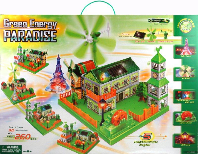 Иллюстрация 1 из 2 для Научный опыт: Зеленый энергорай (36324) | Лабиринт - игрушки. Источник: Лабиринт