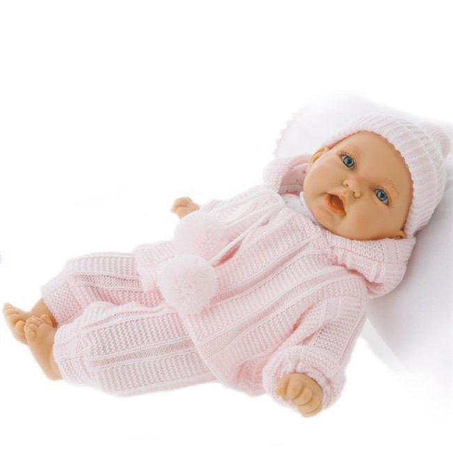 Иллюстрация 1 из 2 для Кукла-младенец Бони в розовом, озвученная (26см) (4421P) | Лабиринт - игрушки. Источник: Лабиринт