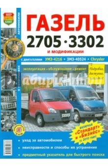 Автомобили ГАЗель 2705, 3302 с двигателем УМЗ-4216, ЗМЗ-40524, Chrysler. Эксплуатация...